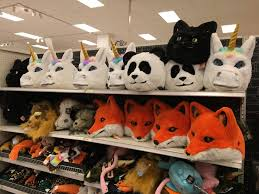 new columbia heights target has hilarious halloween animal heads
