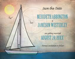 nautical save the date save the date cards rustic sailboat nautical