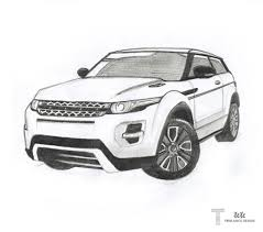 land rover discovery drawing drawings of range rover google search arts and drawings