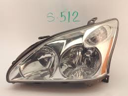 lexus rx330 lights oem head light headlight headlamp lamp lexus rx330 rx350 halogen