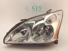 used parts for lexus rx330 oem head light headlight headlamp lamp lexus rx330 rx350 halogen