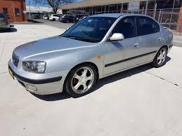 4 2002 hyundai elantra gls 4d sedan silver 2 0l allbids