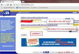 Klikbca Individual Cara Transfer Banking Bca Klikbca Walidin