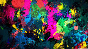 colorful paint splatter hd desktop wallpaper high definition