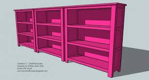 ana white cubby bookshelf diy projects