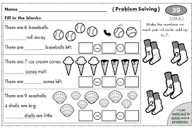 free worksheets 1st grade math word problems printable free