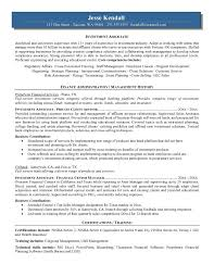 Sample Investment Banking Resume by Example Investment Associate Resume Free Sample
