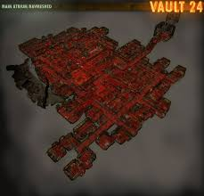 Fallout New Vegas Map Size by Main Atrium Navmeshed Image Vault 24 Mod For Fallout New Vegas