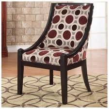 High Back Accent Chair Powell Mulberry U0026 Grey High Back Accent Chair 502 822