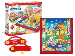 tappeto clementoni giocattoli prima infanzia baby clementoni sonaglino pappagallo 14974