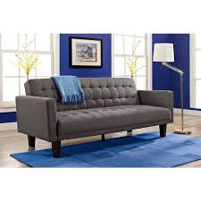 blue sofa bed dhp sienna futon sofa bed free shipping today overstock com