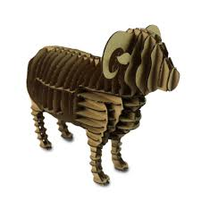 aliexpress com buy oyuncak 3d puzzle sheep cardboard animal