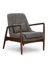 armchair modern conroy accent armchair modern furniture brickell collection
