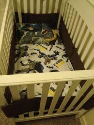 Batman Twin Bedding Set by Batman Crib Bedding Custom Fit From A Twin Size Bedding Set Into A