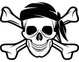 pirate skull cap etsy