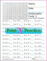 70 fun multiplication worksheets charts flash cards