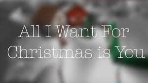 all i want for christmas is you fan roblox music video youtube