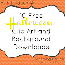 5 5 friday 10 great halloween clip art and graphic freebies