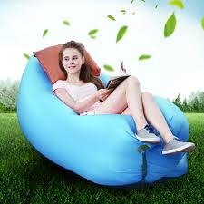 Sofa Bed Inflatable by Lightweight Air Sofa Sleep Bed Inflatable Bag Lounger Couch Great
