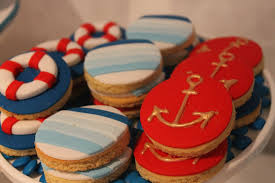 events by nat nautical cookies with fondant ahoy nautical