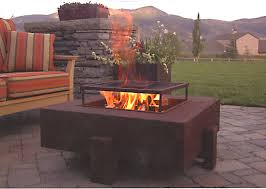 Custom Metal Fire Pits by Steel Fire Pit By Ore Open Room Furniture