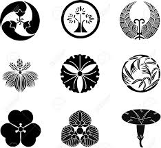 japanese family crests vector 11 royalty free cliparts vectors