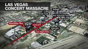 photo map shows targeted festival area on las vegas strip wfla com