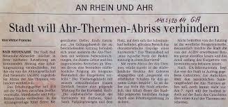 Ahr Therme Bad Neuenahr Pro Ahr Therme Bad Neuenahr März 2014