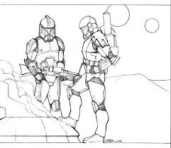 Star Wars Coloring Pages Captain Rex 312775 Wars Clone Coloring Pages