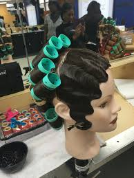 finger wave and roller set cosmetology empirebeautyschool salon