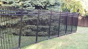 ornamental fencing aluminum fencing granger ia