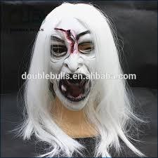Wraith Halloween Costume Gaping Wraith Scary Creepy Ghost Latex Halloween Ghost Masks