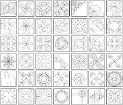 25 unique quilting designs ideas on machine