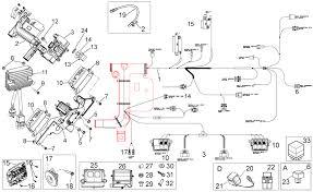 electrical system ii dorsoduro 1200 2010 2013 corsa meccanica