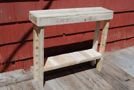 Entrance Way Tables by New Ideas Entrance Way Tables With Diy Pallet Side Table And