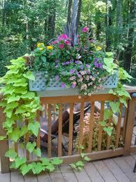 Diy Railing Planter Box by Wonderful Deck Railing Flower Boxes Railing Ideas Deck Rail