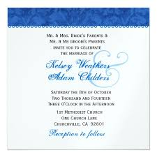 Wedding Template Invitation Blank Wedding Invitations Templates Royal Blue Yaseen For