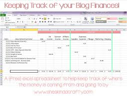 Expense Report Program by Keep On Track Blogging Income And Expense Spreadsheet Shes