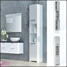 Freestanding Bathroom Storage Units Free Standing Bathroom Shelves New White Basket Unit