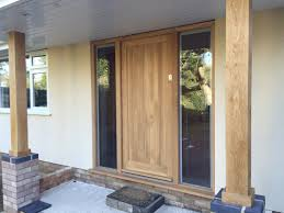 How To Build A Solid Wood Door Solid Wood Residential Exterior Doors In Various Styles