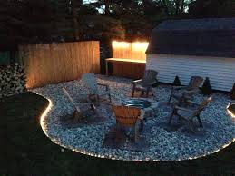 ideas about rope lighting retro led also outdoor fireplace