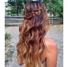 hair braid across back of head 7 best hairstyles for grad images on pinterest hair makeup cute