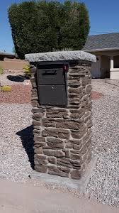 mailbox post ideas perk up your curb appeal for less