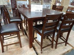 9 pieces dining room sets dining table sets costco costco dining table set modern counter