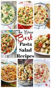 best pasta salad recipe spinach and artichoke pasta salad