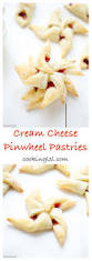 cherry jam cream cheese pastries pinwheel cookies