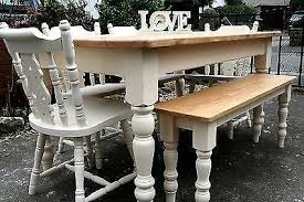 shabby chic farmhouse table shabby chic farmhouse tables collection on ebay