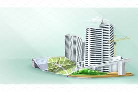 city building background illustrations creative market