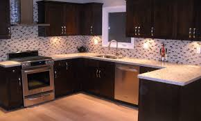 mosaic kitchen backsplash zamp co mosaic kitchen backsplash appealing black and white glass mosaic tile backsplash with brown wooden cabinets ideas