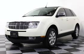 2007 Lincoln Mkx Interior 2007 Used Lincoln Mkx Mkx Awd Ultimate Elite Navigation At